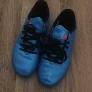 Boys Adidas Soccer Cleats Indoor